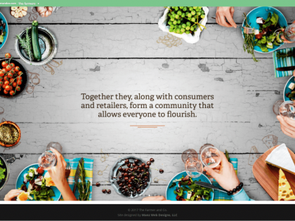 New Site for The Farmer & Co!