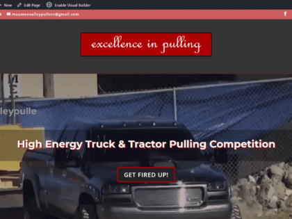 Website Redesign – Maumee Valley Pullers