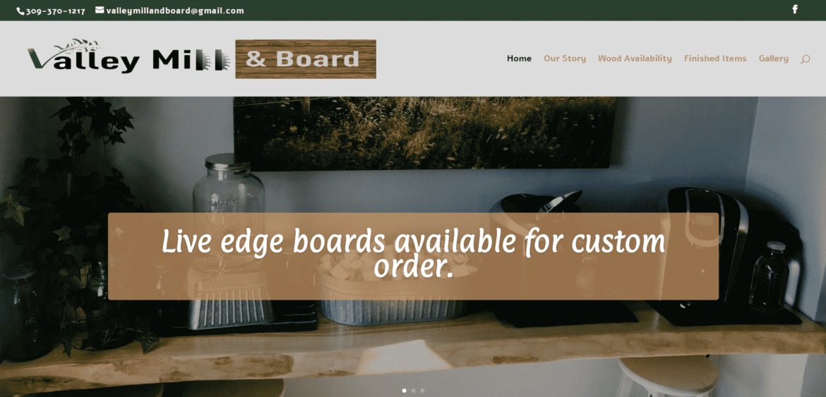 valley mill and board website image